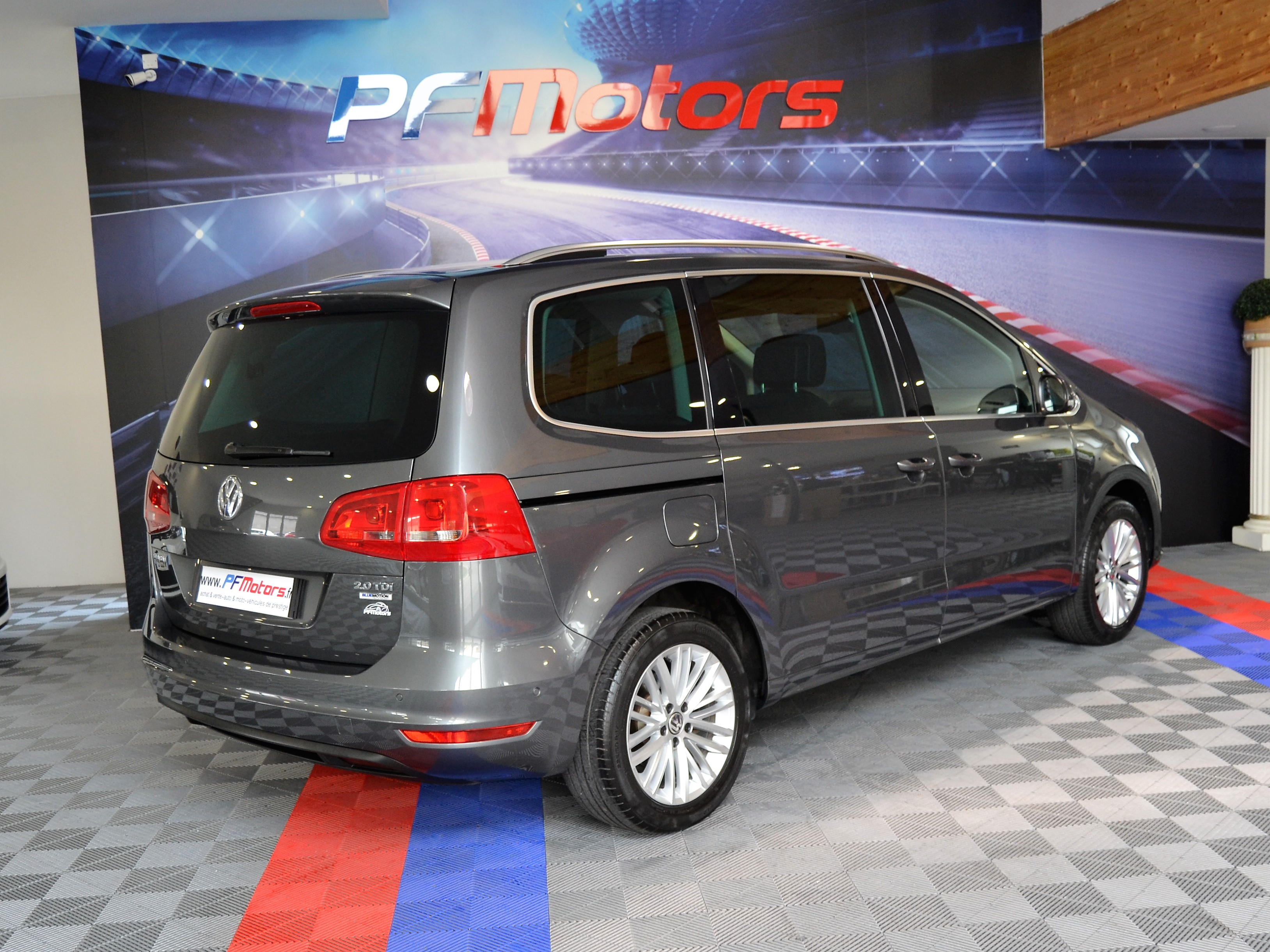 volkswagen sharan 2 0 tdi 140 cup 7 places pf motors. Black Bedroom Furniture Sets. Home Design Ideas